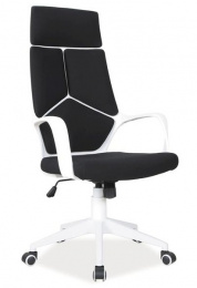 Kancelářské křeslo Q199 černo-bílé