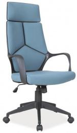 Kancelářské křeslo Q199 modro-černé