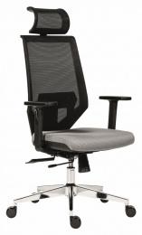 kancelárská stolička EDGE šedá