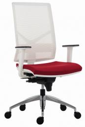 kancelárska stolička 1850 SYN OMNIA ALU WHITE