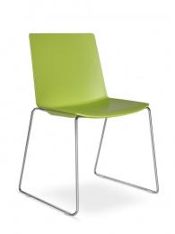 Konferenční stolička SKY FRESH 040-N4, kostra chrom