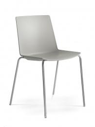Konferenčná stolička SKY FRESH 050-N4, kostra chrom