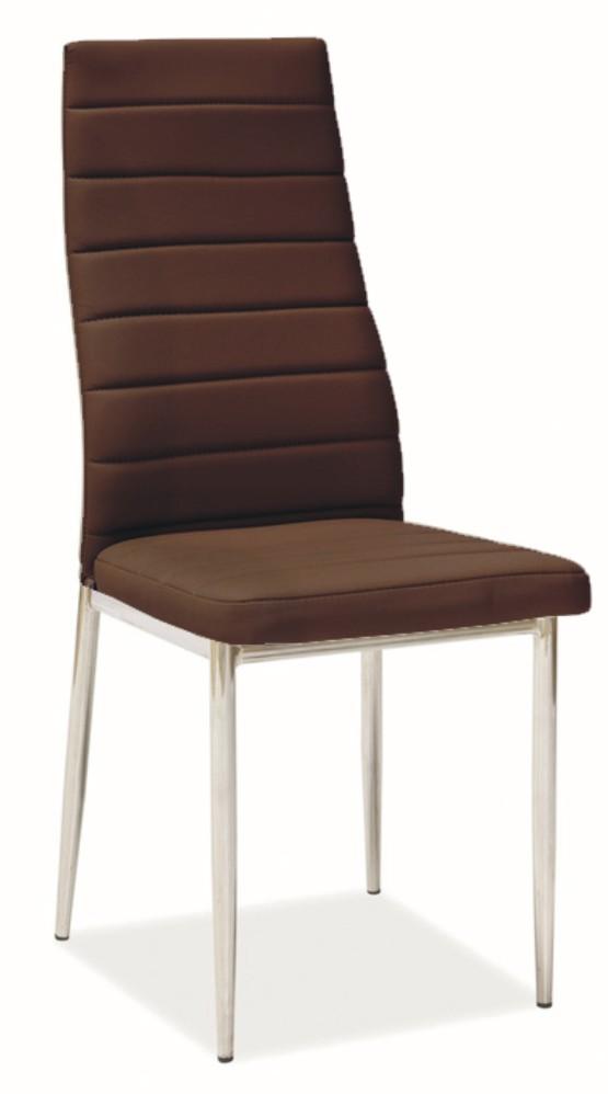 FALCO Jídelní židle H-261 hnědá