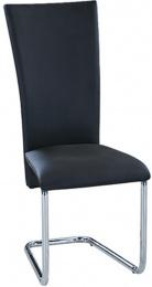 Jedálenská stolička F-245 čierna