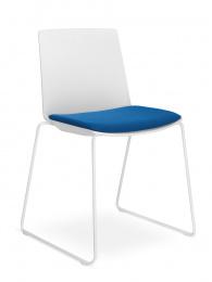 Konferenčná stolička SKY FRESH 042-N4, kostra chrom