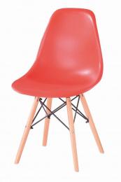 Jedálenská stolička Enzo červená