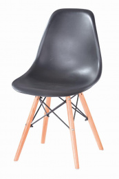 Jídelní stolička Enzo čierna