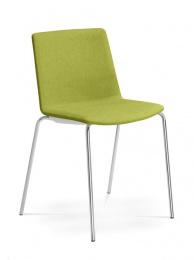 Konferenčná stolička SKY FRESH 055-N4, kostra chrom
