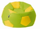 sedací vak EUROBALL velký, NK63/NK01 zeleno-žlutý