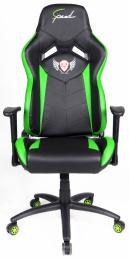 kancelárske kreslo SUZUKA - čierno-zelené