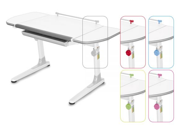MAYER Dětský rostoucí stůl PROFI3 32W3 58 TW (5v1)