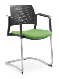 stolička DREAM+ 101-BL/B-N2, kostra šedá