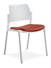 stolička DREAM+ 100-WH-N2, kostra šedá