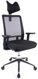 židle SHIFTER PDH černá kancelárská stolička