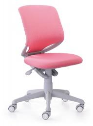 Rostoucí židle SMARTY 2416 09 (růžová) kancelárská stolička