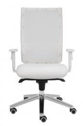 kancelářská židle KENT SÍŤ, TB-SYNCHRO bílá konstrukce