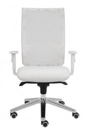 stolička KENT SÍŤ, E-SYNCHRO bílá konstrukce
