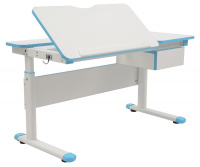 Rostoucí dětský psací stůl FUXO -modrý