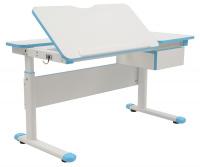 Rastúci detský písací stôl FUXO -modrá