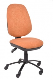 židle 17 ASYN UP&DOWN, látka Renna 9 černá, SLEVA 90S kancelárská stolička