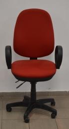 židle BRAVO, Phoenix 105 červená, SLEVA č.316 kancelárská stolička