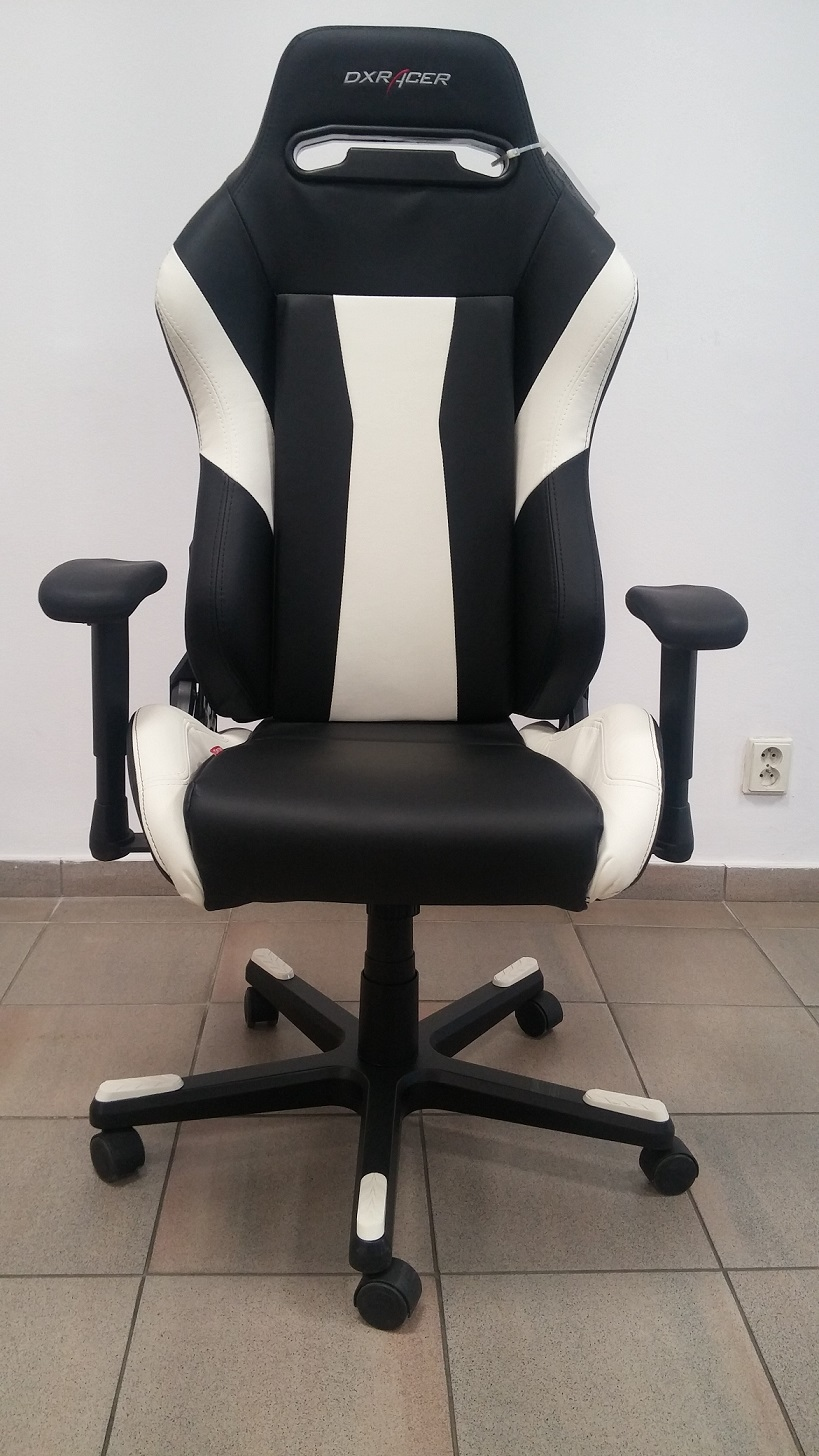 židle DXRACER OH/DF66/NW, SLEVA č.507 gallery main image