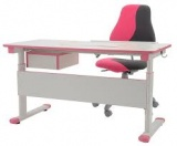 Dětský set: rostoucí židle FUXO V-LINE + stůl  kancelárská stolička
