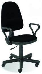 židle BRAVO ASYN, černá, SLEVA č.84 kancelárská stolička