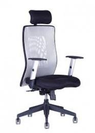 židle CALYPSO GRAND SP1 12A11 šedá, SLEVA 96S kancelárská stolička