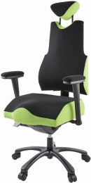 terapeutická stolička THERAPIA BODY L COM 3610, čierná