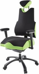 terapeutická stoličkaTHERAPIA BODY XL COM 4610, čierná
