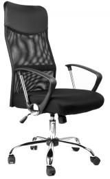 kancelárska stolička Sedia prezident černý
