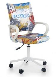 Dětská židle IBIS freestyle, SLEVA č.616 kancelárská stolička