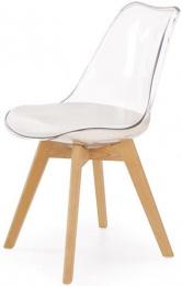 Jedalenská stolička K246 biela