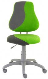 detská stolička FUXO S-line sv.zeleno-sivá