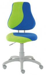detská stolička FUXO S-line modro-svetlo zelená