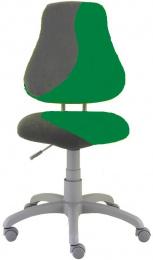 Detská stolička FUXO S-line tmavě zeleno-šedá