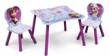 Dětský stůl s židlemi Ledové království - Frozen kancelárská stolička