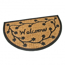 Kokosová vstupná rohož Welcome-Deco  75x45 cm