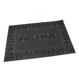 Gumová vstupná rohož Welcome - Leaves 60x40 cm