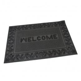 Gumová vstupní rohož Welcome - Leaves 60x40 cm