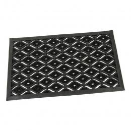 Gumová čistící kartáčová vstupní rohož Fingerdrop 75 x 45 cm