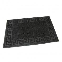 Gumová čistící kartáčová venkovní vstupní rohož Pins - Deco 60 x 40 cm