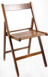 skládací stolička SMART PRÍRODNÉ vlašský orech