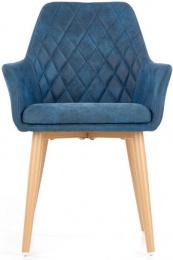 Jedálenská stolička K287 tmavo modrá