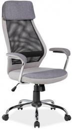 kancelárska stolička Q336 šedá
