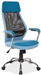kancelárska stolička Q336 modrá