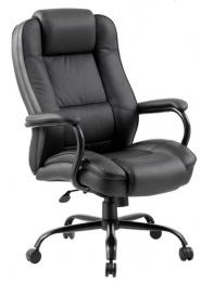 Kancelárska stolička GRANDE- PU čierna koženka
