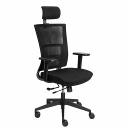 Kancelárska stolička HEDA PS- čierna