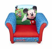 Dětské čalouněné křesílko Mickey Mouse